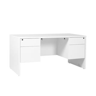 """60""""w x 30""""d White Laminate Desk DSK013719"""