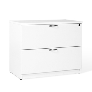 "36""w x 20""d White Laminate Lateral File FIL013722"