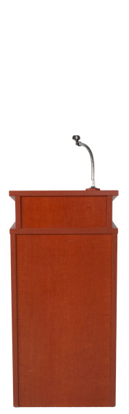 "18""-20""w x 42""h Medium Cherry Modern Lectern LEC013856"