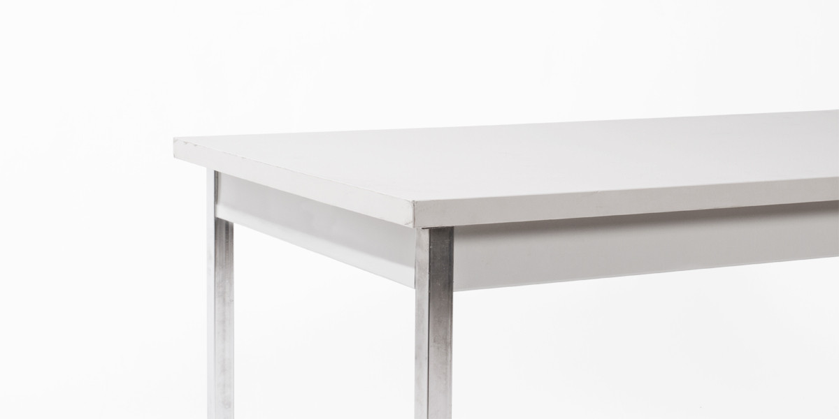 60″w x 30″d Light Grey Work Table TBL003585