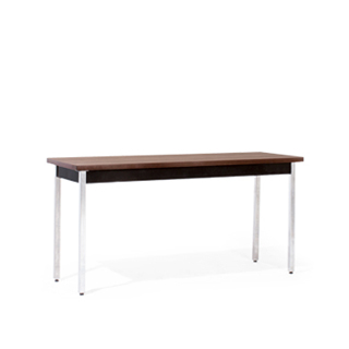 60″w x 20″d Walnut Work Table TBL007144