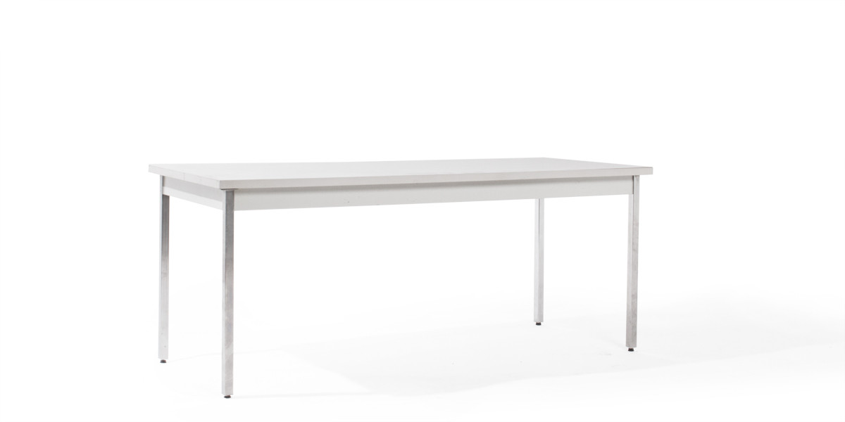 72″w x 30″d Grey Laminate Work Table TBL008865