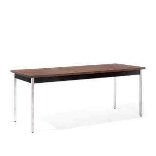 72″w x 30″d Walnut Work Table TBL011853