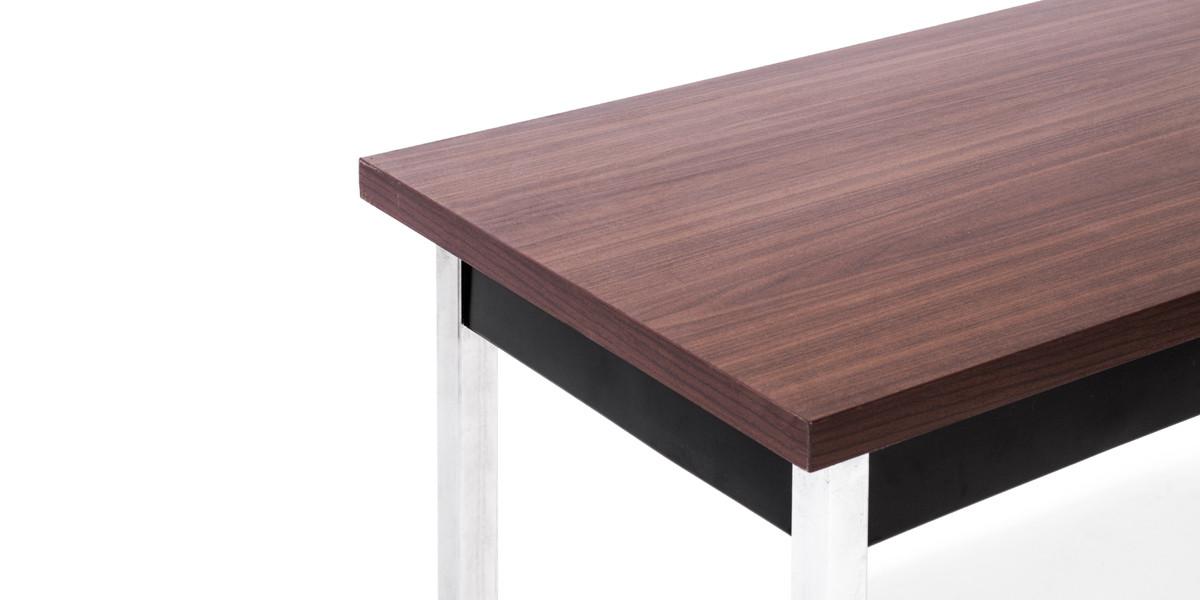 72″w x 18″d Walnut Work Table TBL012811