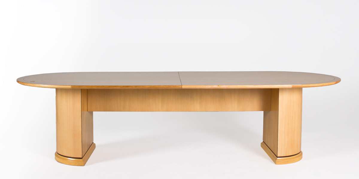 120 w x 48 d maple conference table tbl013015 arenson for 120 conference table