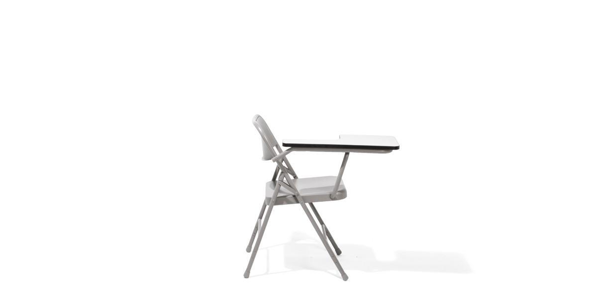 Grey Tablet Folding Chair CHR012429