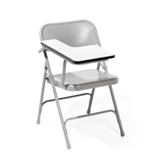 Grey Tablet Folding Chair CHR012429
