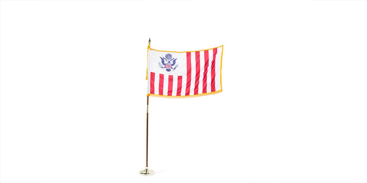 """60""""w x 36""""h US Customs Flag FLG013902"""