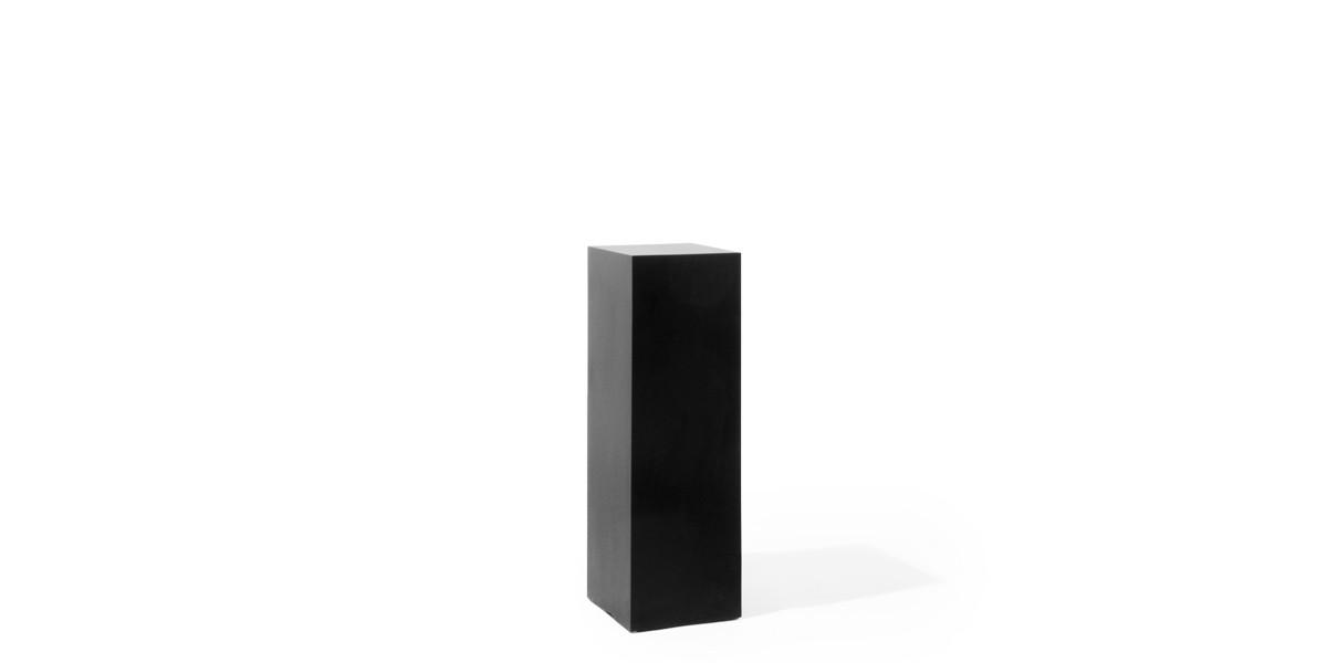"12""w x 36""h Black Laminate Pedestal PED013268"