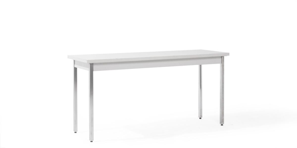 "60""w x 20""d Light Grey Laminate Work Table TBL006430"
