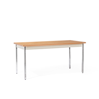 "60""w x 30""d Medium Oak Work Table TBL006672"