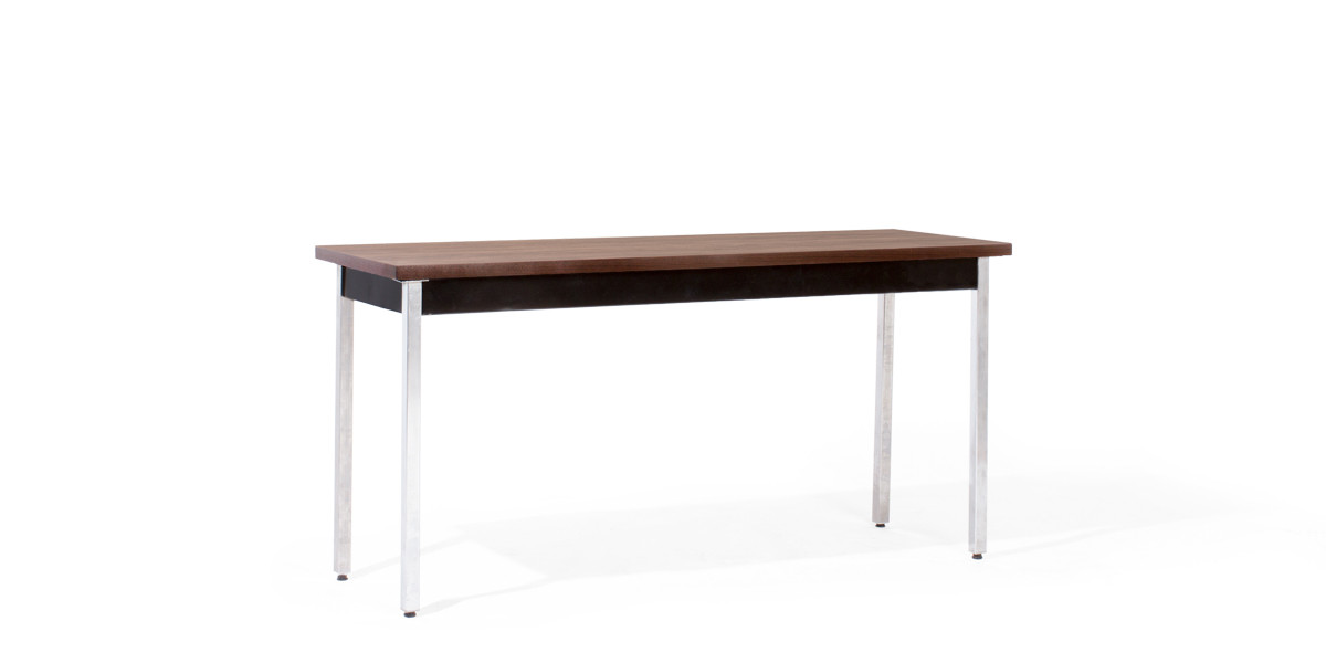 """60""""w x 20""""d Walnut Work Table TBL007144"""