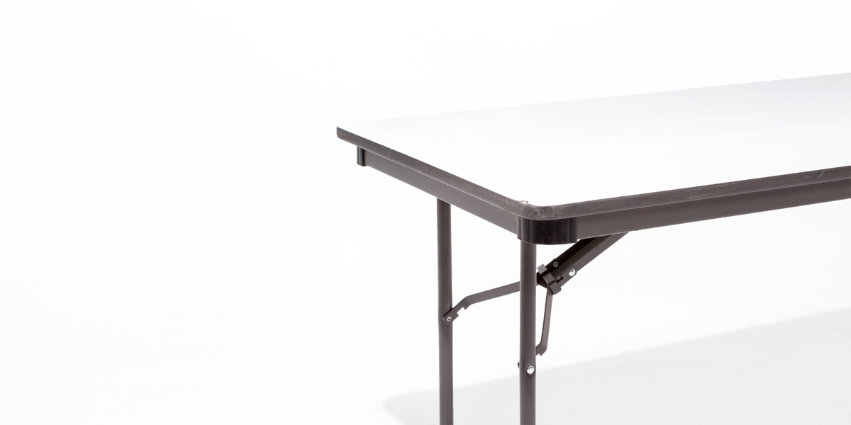 30″w x 96″d Grey Laminate Folding Table TBL011719