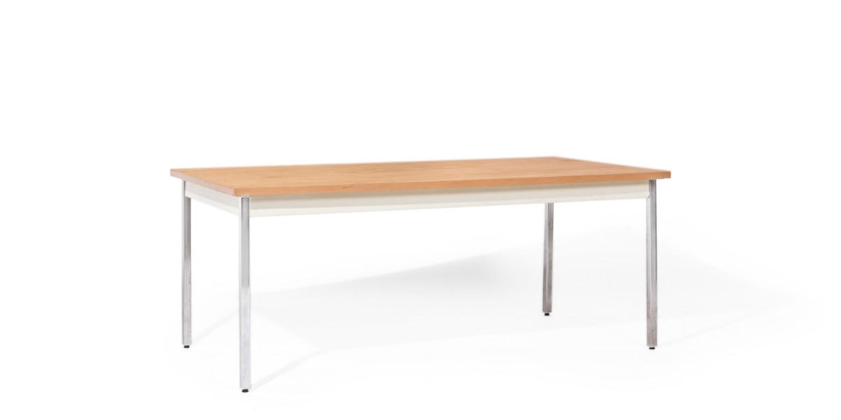 """72""""w x 36""""d Medium Oak Work Table TBL012449"""