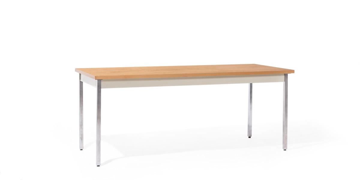 "72""w x 29""h Medium Oak Work Table TBL012543"