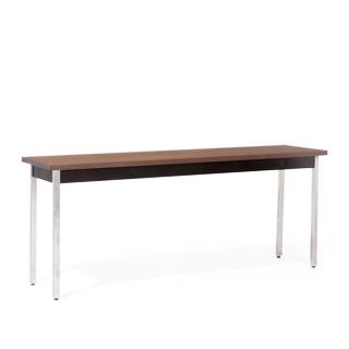 """72""""w x 18""""d Walnut Work Table TBL012811"""
