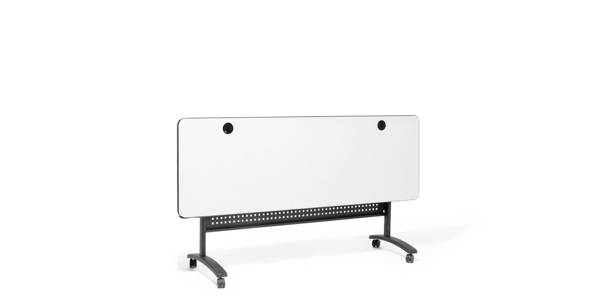 "71""w x 24""d Grey Laminate Folding Table TBL013652"