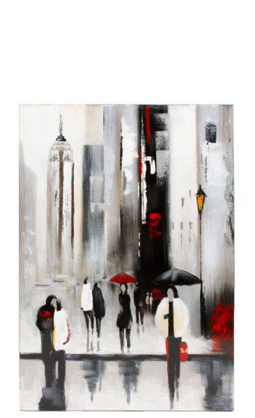 "23.5""w x 35.5""h Cityscape Art ART012756"