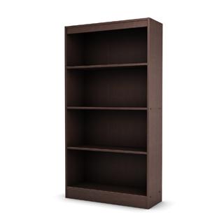 "36""w x 72""h Walnut Veneer Bookcase BKC012466"