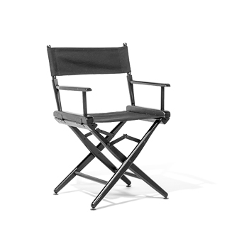 Black Wood Director's Chair CHR004972