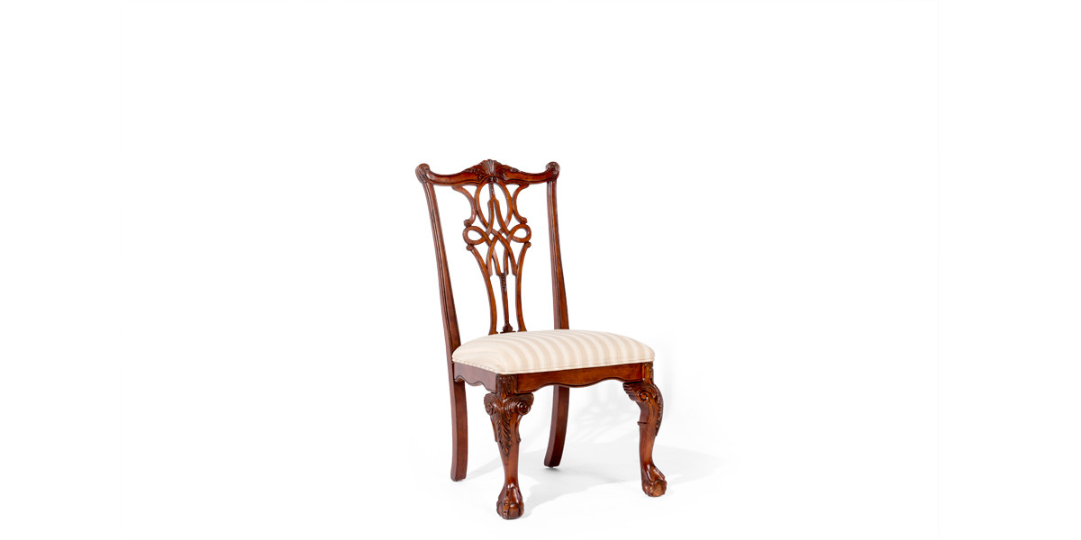 Mahogany Chippendale Side Chair CHR007822