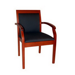Black Fabric Guest Chair CHR009945