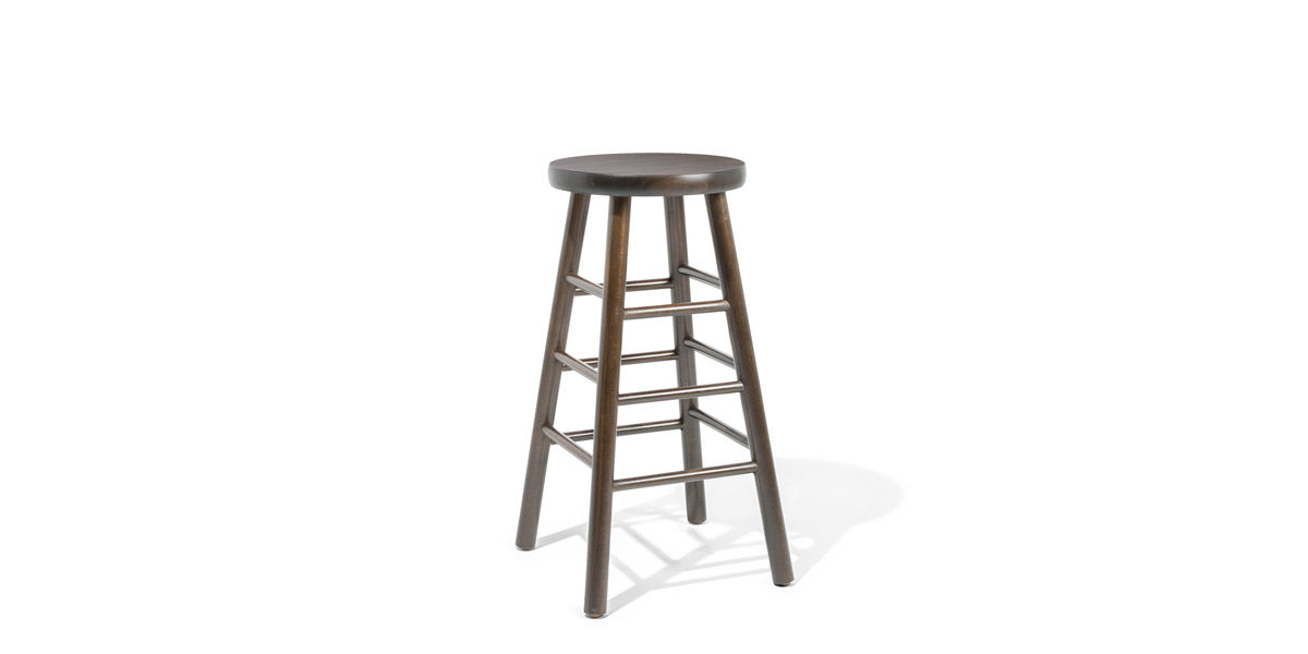 Dark Walnut Stool CHR012057