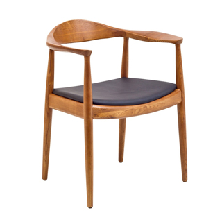 Walnut Modern Guest Chair CHR012595