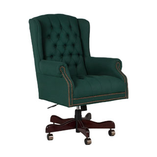 Traditional Green Executive Hi-Back Chair CHR014381