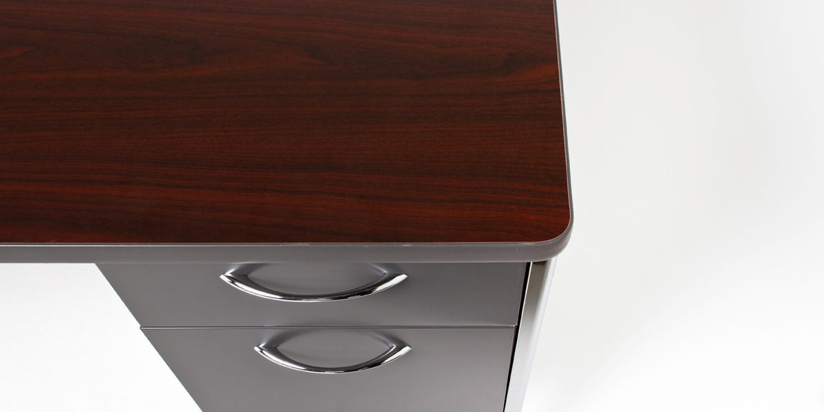 "60""w x 30""d Charcoal Grey Desk DSK010380"
