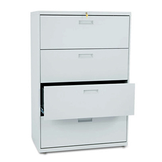 "36""w x 19.25""d Light Grey Lateral File FIL004104"