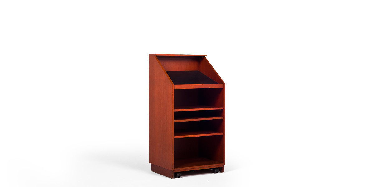 "24""w x 47""h Medium Cherry Lectern LEC013857"