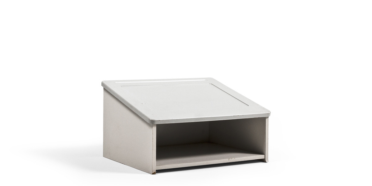 "24""w x 14""h Grey Table Top Lectern LEC013918"