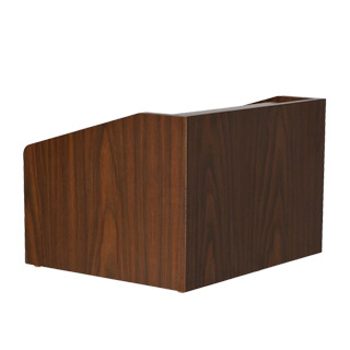 "22""w x 15.5""h Walnut Table Top Lectern LEC013931"