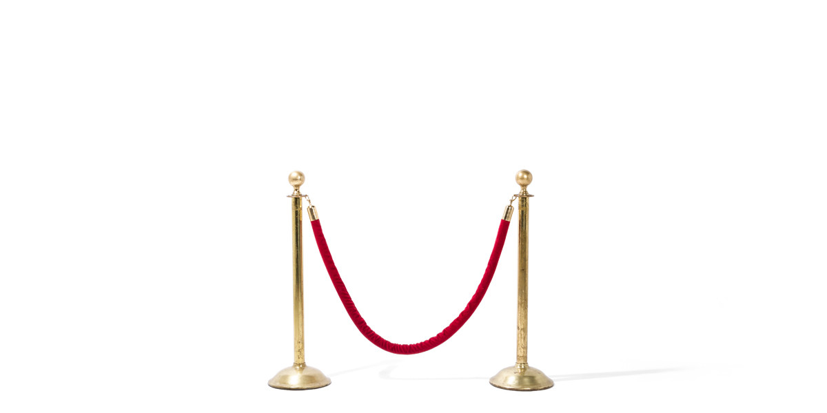 "38.5""h Polished Brass Stanchion MIS009575"