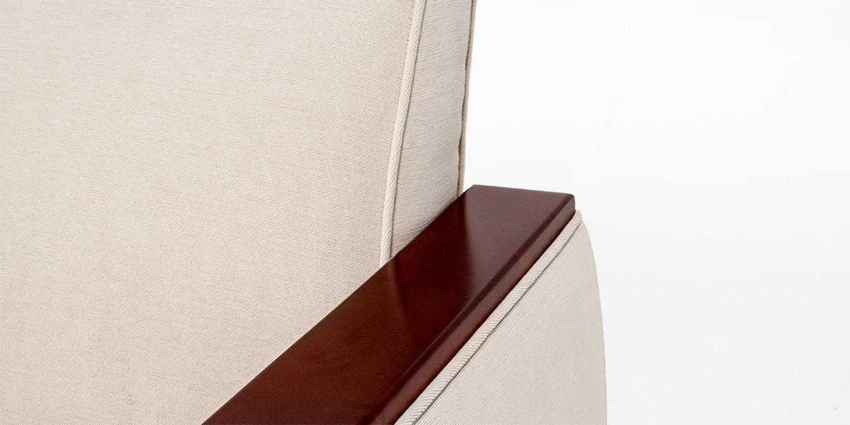 """78""""w x 26""""d Beige Fabric Sofa SOF013394"""