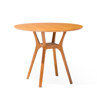"36""dia Maple Round Café Table TBL002362"