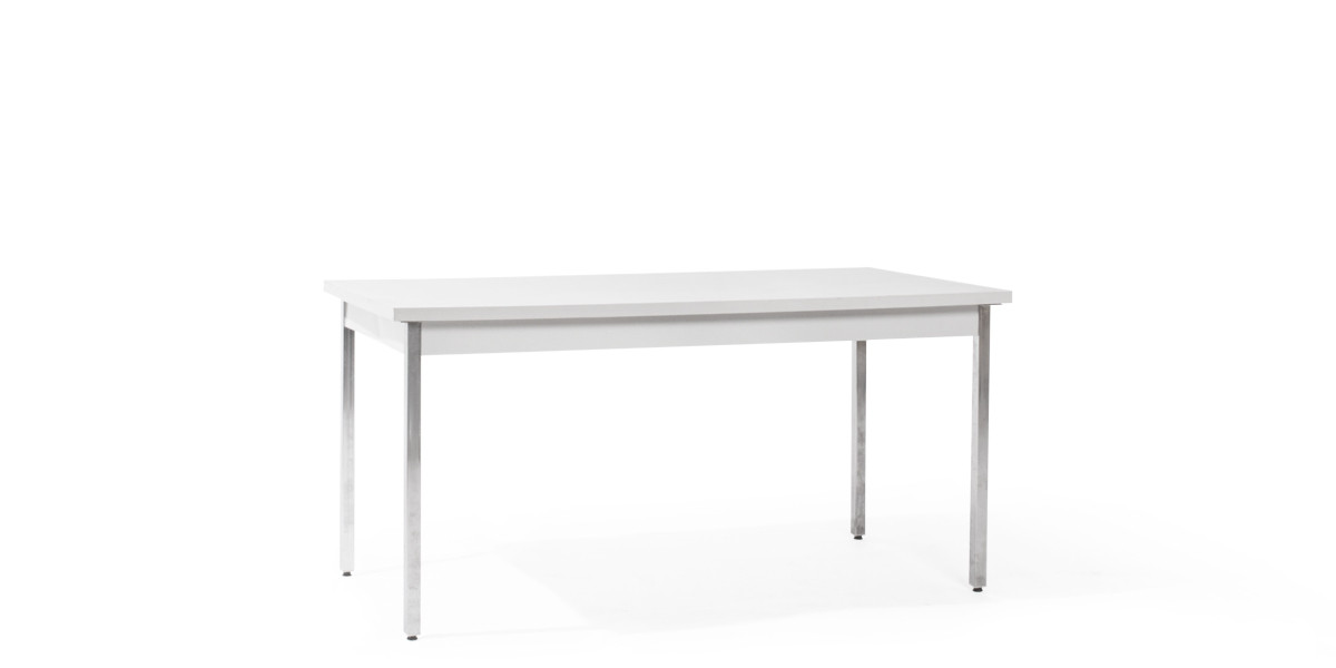 "60""w x 30""d Light Grey Work Table TBL003585"