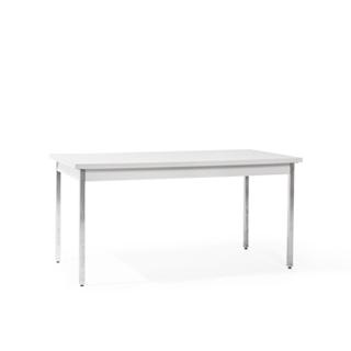"60""w x 30""d Light Grey Work Table TBL003585"