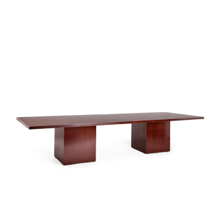 "72"" - 144""w x 48""d Mahogany Veneer Conference Table TBL006151"