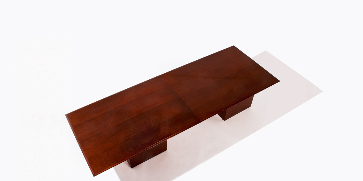 "120""w x 48""d Medium Cherry Conference Table TBL007444"