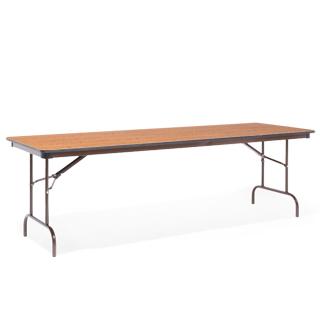 """96""""w x 30""""d Medium Oak Folding Table TBL009142"""