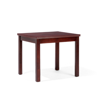 "20""w x 24""d Mahogany Side Table TBL010252"