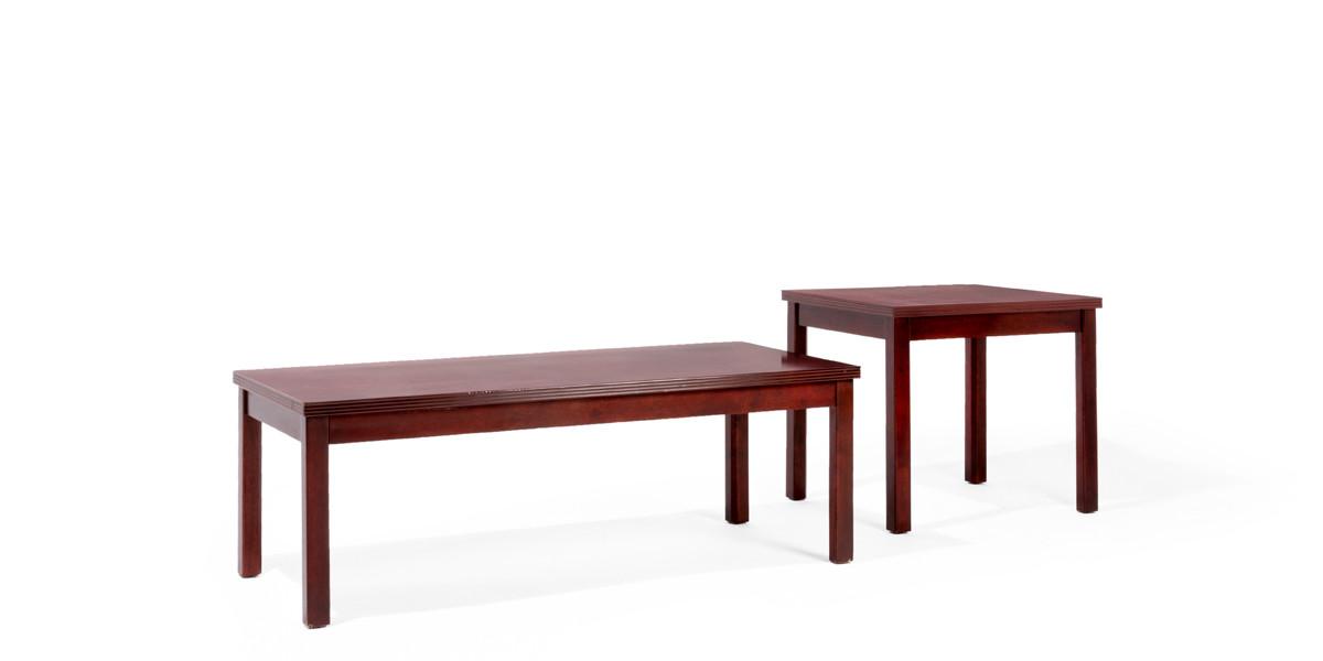 "20""w x 24""d Mahogany Side Table TBL010252"