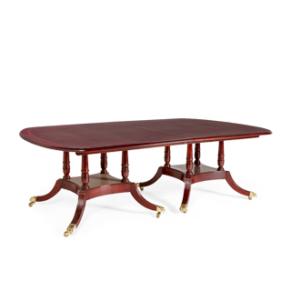"96""w - 240""w x 60""d Dark Cherry Conference Table TBL011192"