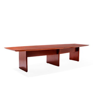 "144""w x 48""d Cherry Conference Table TBL012725"