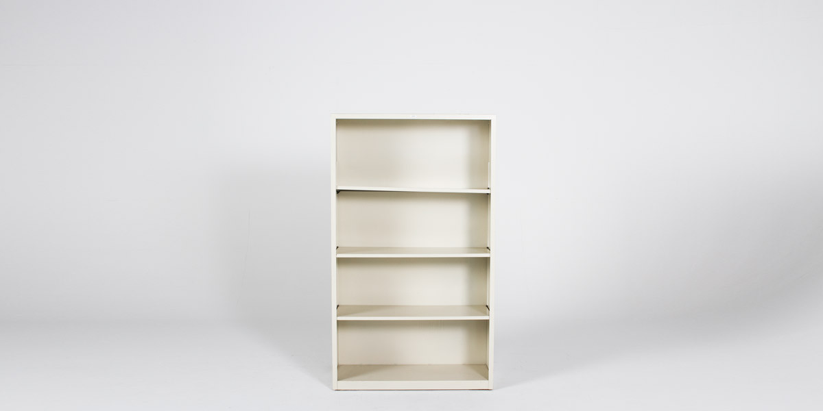 "34.5"" x 59"" Metal Bookcase by Hon (qty:3) BOOK103"