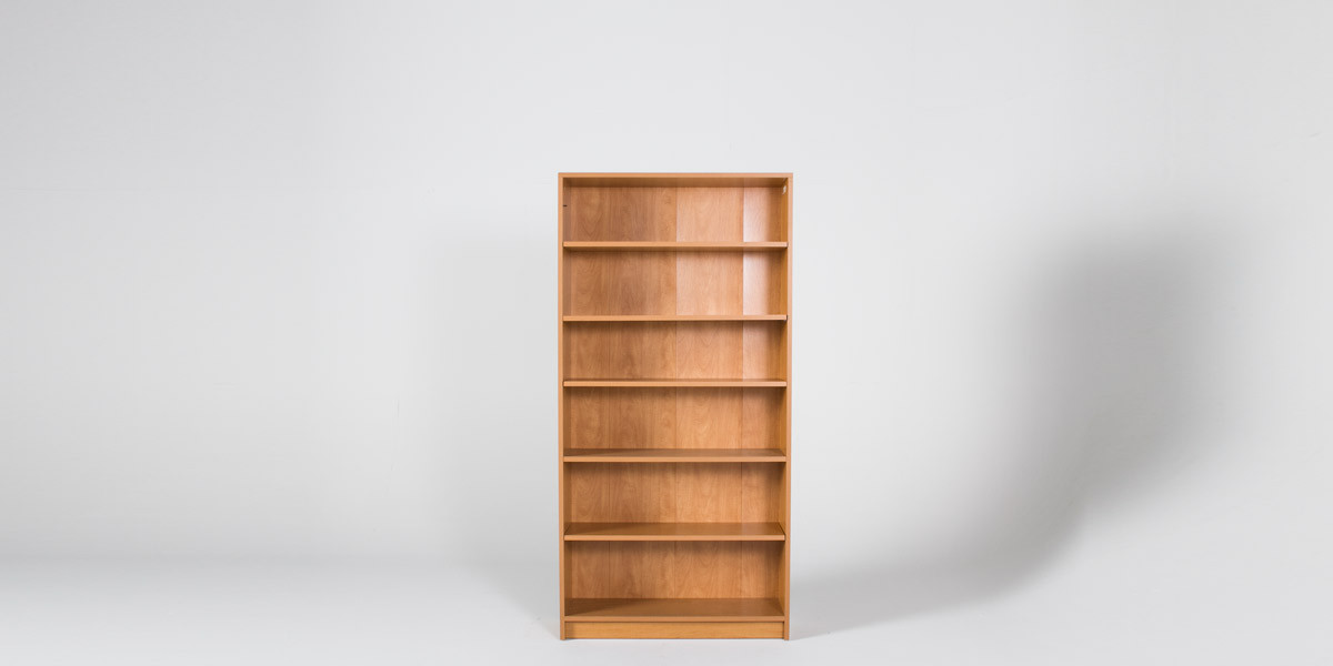 "36"" x 72"" Oak Laminate Bookcase by Hon BOOK111"