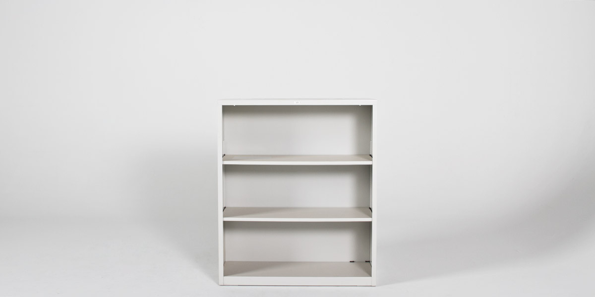 "34.5"" x 41"" Metal Bookcase by Hon BOOK104"