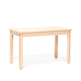 "48""w x 24""d Maple Veneer Table Desk DSK013944"